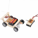 DIY Children Remote Car Self Installed 5M Wireless Science Education DIY Toy Technology Stem Science Kit For Children and Student