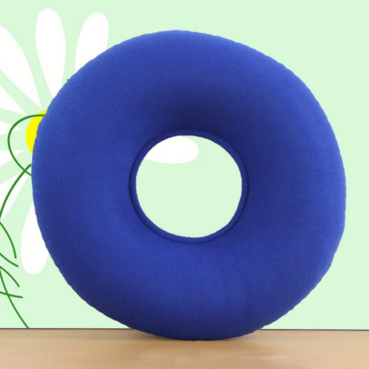 Medical Inflatable Seat Cushion Ring Round PVC Seat Air Massage Mattress Pillow Anti Hemorrhoid Home Office Chair Supplies