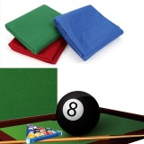 7ft/8ft Professional Worsted Billiard Pool Table Cloth Felt Universal Snooker Accessories Billiard Table Cloth for Indoor Bars Clubs Games Hotels Table Felt Cloth 2.5×1.42m