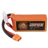 URUAV GRAPHENE 4S 14.8V 1550mAh 130C Lipo Battery XT60 Plug for FPV RC Racing Drone