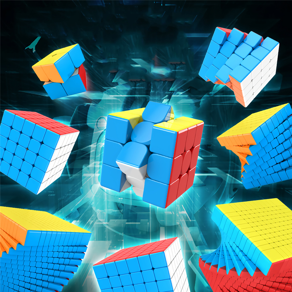 MOYU Meilong Puzzle Magic Cube Stickerless 7x7 Speed Puzzle Magic Cubes Toys Gift Educational Toys for Children