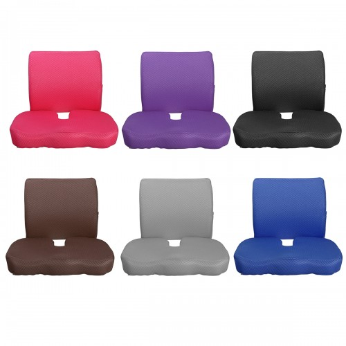 Cushion Office waist cushion seat cushion memory cotton hemorrhoid cushion car cushion backrest waist cushion chair