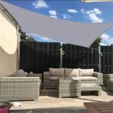 Sun Shade Sail Garden Patio Sunscreen Awning Canopy Screen 98% UV Block Greenbay