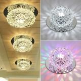 Creative 5W AC200V Corridor LED Ceiling Lamp Crystal Living Room Aisle Corridor Lights LED Ceiling Lights Home Decoration Lighting