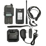 2020 Baofeng UV-XS 10W Waterproof Walkie Talkie Set Portable FM Transceiver VHF UHF Black Button Two Way Radio