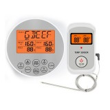 Bakeey Wireless Thermometer Dual Probe Digital Cooking Meat Food Oven Thermometer Outdoor Barbecue Kitchen Thermometer