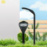 T-SUN 12LED Solar Light 3000K/6000K Adjustable Solar Spotlight Solar Power Landscape Wall Light Outdoor Garden Decoration Lamps Path Lights