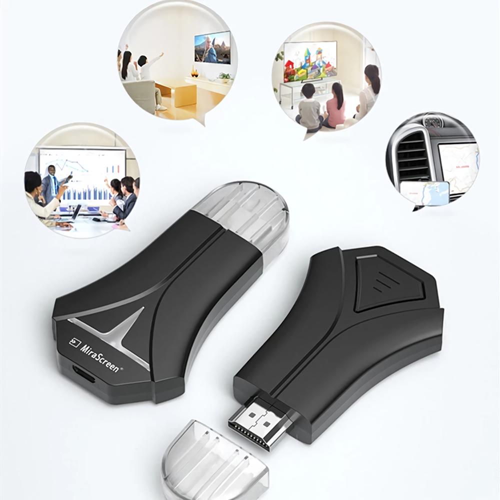 Mirascreen Wrieless Display Receiver Wifi HD Display Dongle Wireless HD Adapter 1080P Screen Mirroring Adapter K12