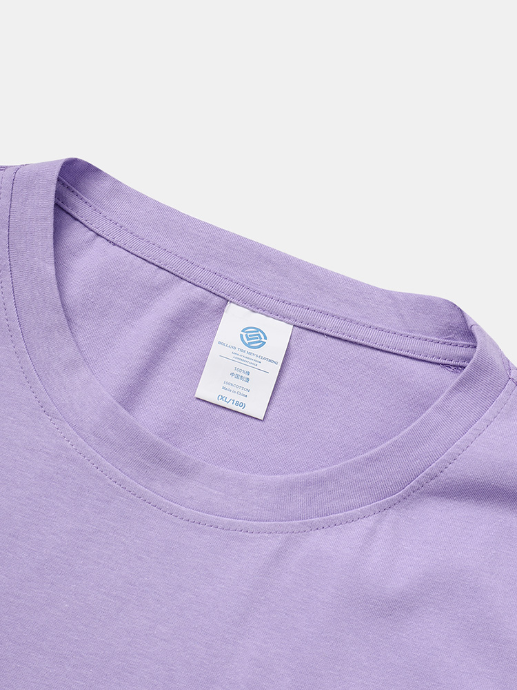 Mens Weather Print Cotton Crew Neck Loose Casual Short Sleeve T-Shirts