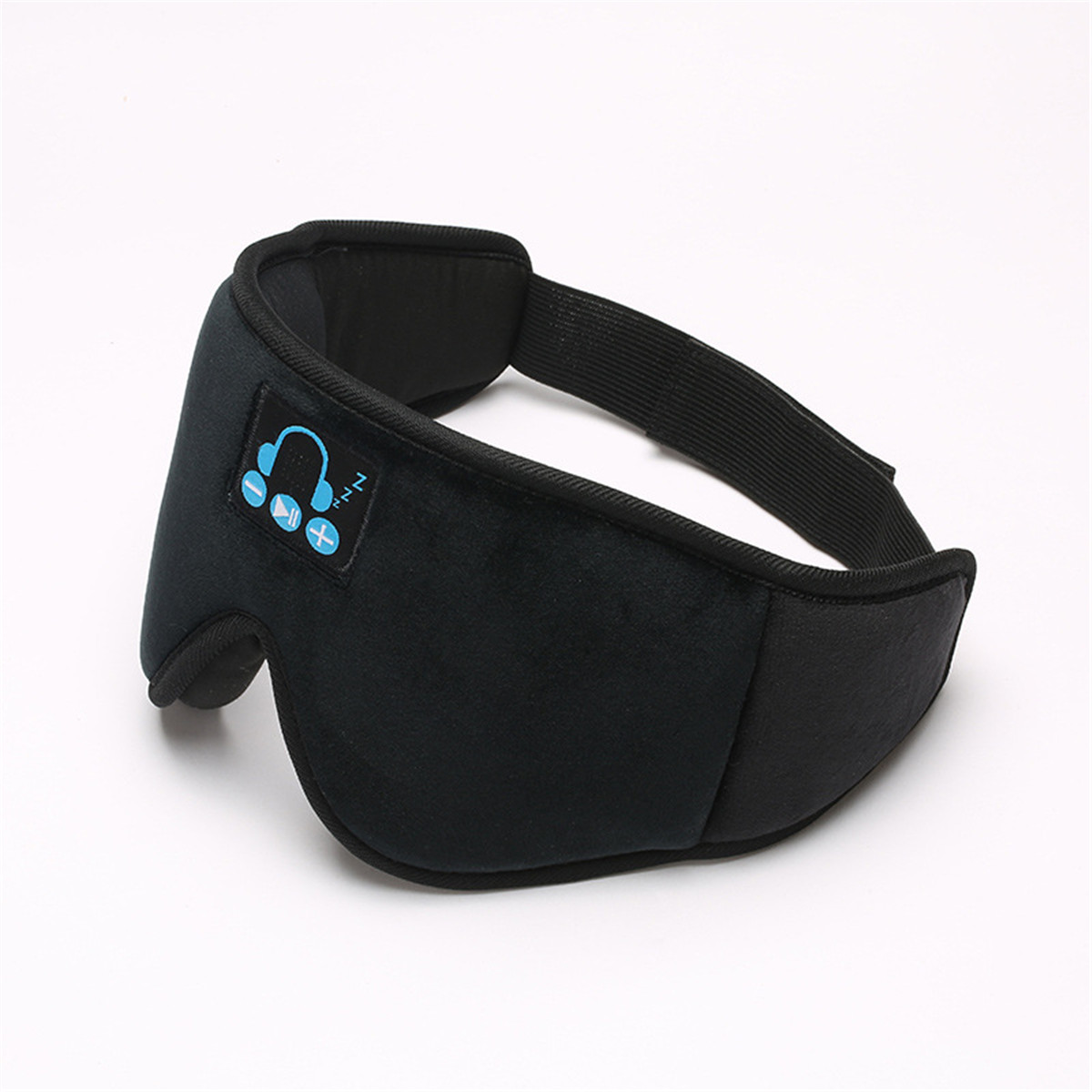 2-IN-1 Portable Wireless bluetooth 5.0 3D Stereo Smart Music Breathable Sleep Eyemask Blindfold