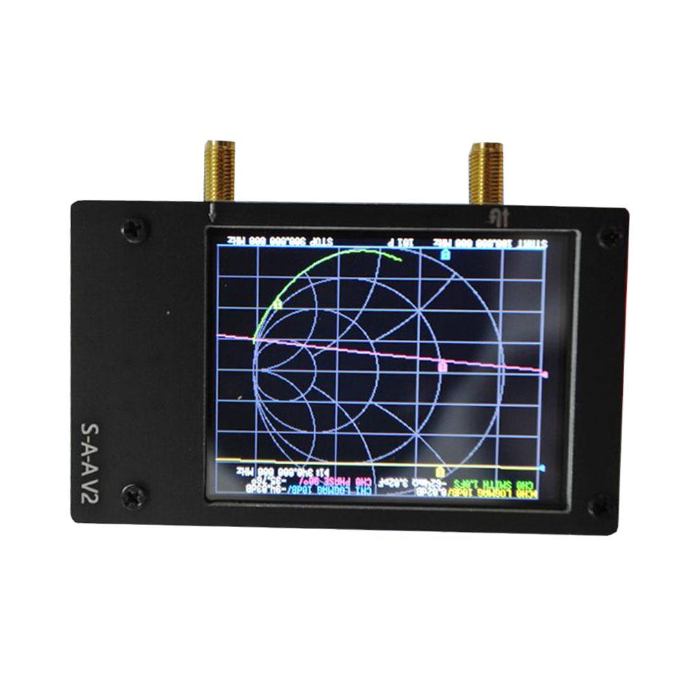 LZ3G S-A-A V2 Vector Network Analyzer 2.8 Inch Digital Nano VNA Tester MF HF VHF UHF USB Logic Antenna Analyzer Standing Wave