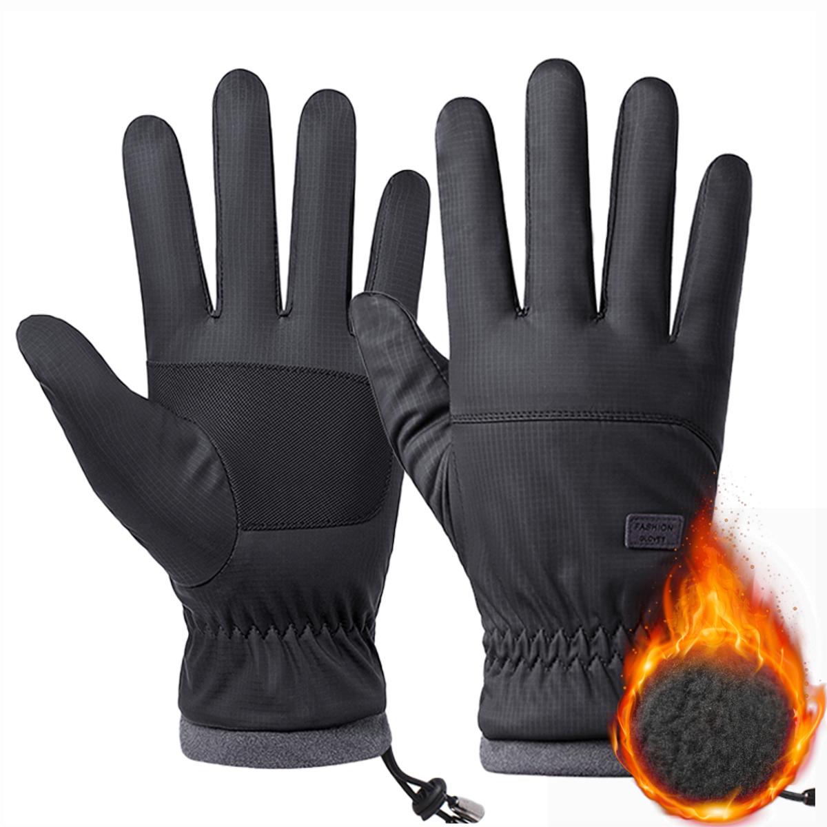 Winter Men Women Touch Screen Driving Gloves Windproof Waterproof Outdoor Skiing Sport Warm Thicken Waterproof Windproof