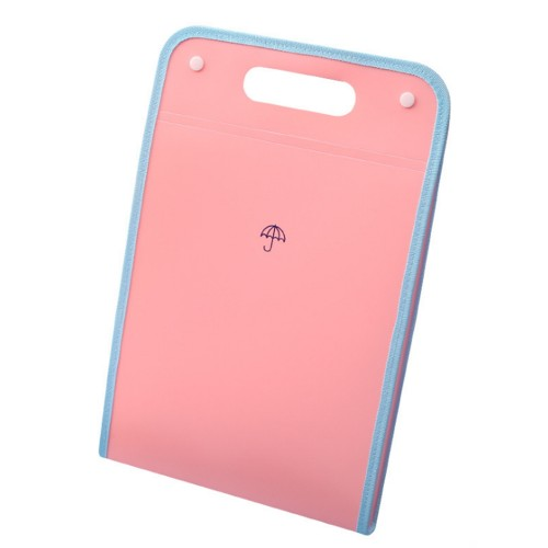 A4 13 Layers Expanding File Folders A4 Paper Placstic File Folder with Pocket Snap Closure Document Organizer Set File Folder Labels for School Office Home