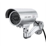 Bakeey Dummy Security Camera CCTV CCD Outdoor Waterproof Simulation Surveillance Camera With Red Flashing LED