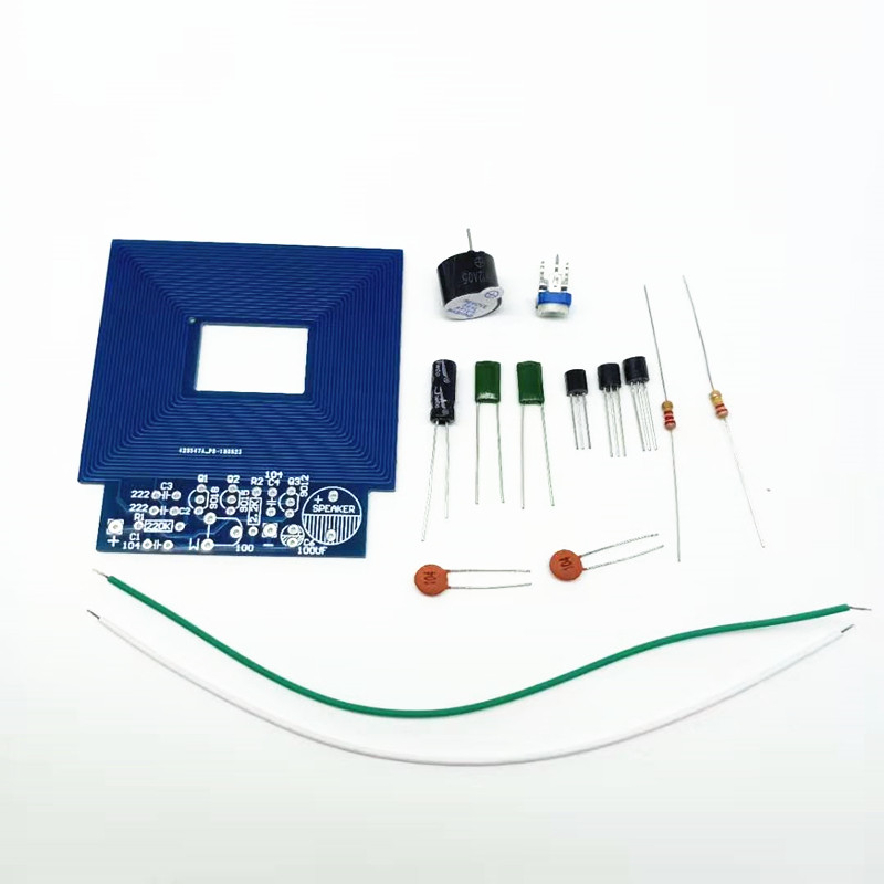 Simple Metal Detection Kit DIY Electronic Technology Production Parts Student Experimental Training Kit