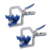 Drillpro 2 Pack Auto-adjustable 90 Degree Corner Clamp Face Frame Clamp Woodworking Clamp