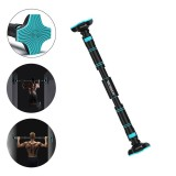 110-140cm Door Horizontal Bars Pull Up Training Bar Chin Push Up Workout Home Gym Fitness Sit-ups Equipments Max Load 400kg