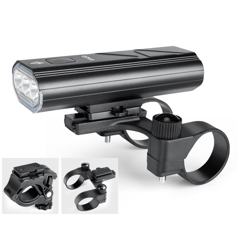 GIYO Bike Light 5-Modes 3*T6 LED Bicycle Front Light USB Charging Bike Headlight Flashlight For MTB Road Bicycle