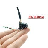 EWRF 7082VE AIO Camera 800TVL 170 Degree PAL 4:3 5.8Ghz 40CH 50mW/100mW/Pitmode Mini FPV VTX-CAM Support S.BUS Setting