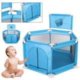 Baby Portable Children's Playpen Folding Child Fence Child Safety Barrier Ball Pool Kids Bed Fence Playpen Dry Pool for Children