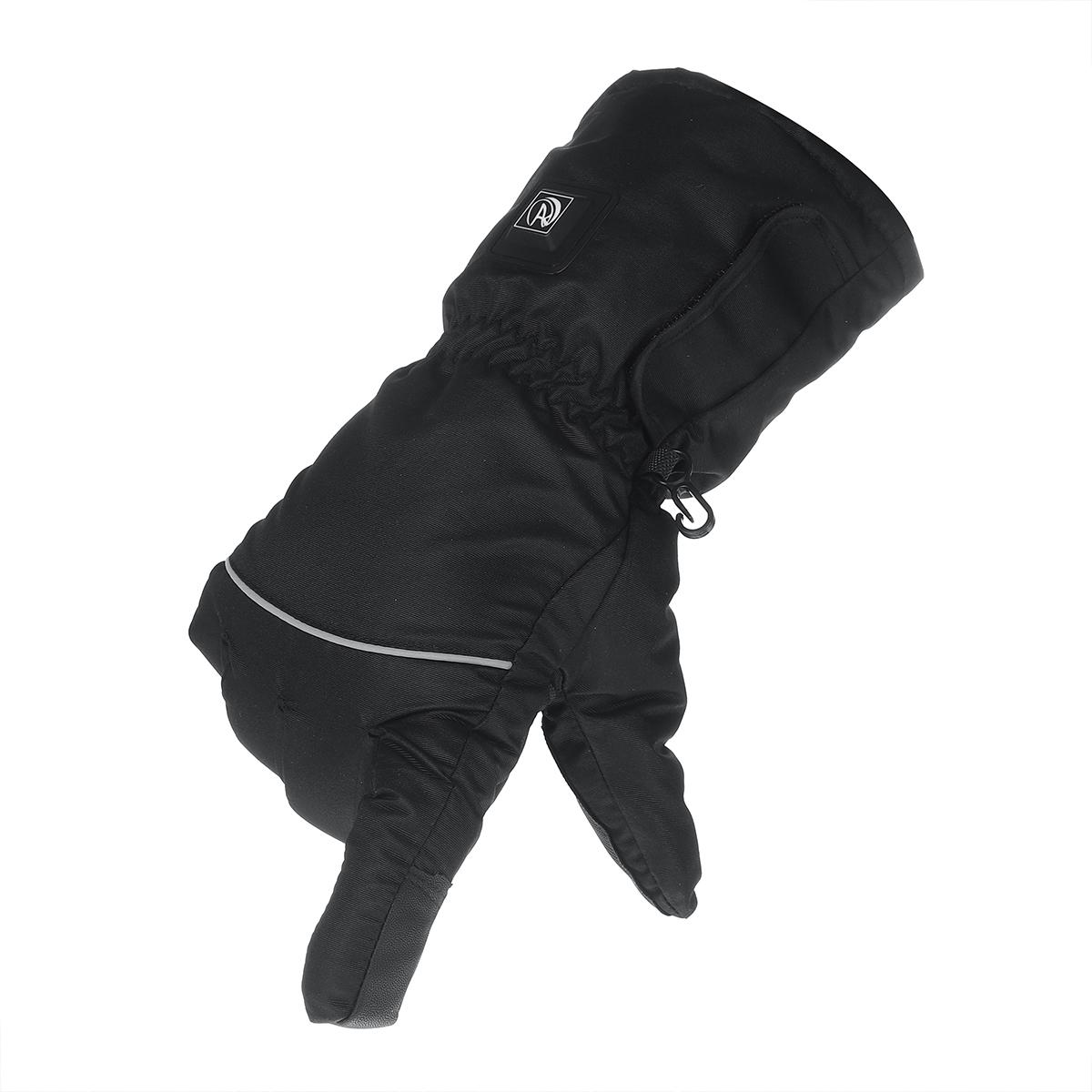 Electric Windproof Touch Screen Running Gloves 3 Models Adjustable Men Women Winter Fleece Thermal Warm Sport Gloves Anti-slip Cycling Outdoor Gloves