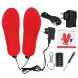 Electric Heating Insoles Warm Shoe Socks Feet Heater USB Foot Winter Warmer Pads