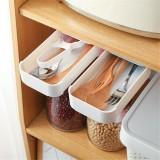 Hidden Storage Pen Box Hold Items Drawer Table Under Paste Storage Box Student Stationery Case Pen Makeup Holder Supplies