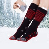 5V Thermal Cotton Heated Socks Men Women Battery Case Battery Operated Winter Foot Warmer Electric Socks Warming Socks