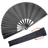 Large Folding Silk Hand Fan Hand Folding Fans Chinese TaiChi Folding Fan for Men and Women Performance Dance Decorations Kung Fu
