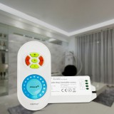 MiBoxer FUT041(Upgraded) Single Color Dimmer Controller + 433MHz RF Remote Control for LED Strip Tape Light DC12-24V