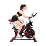 Multifunctional Aerobic Bike LED Display Cardio-workout Home Cycling Bike Heavy Duty Spin Bike Indoor Fitness Equipment