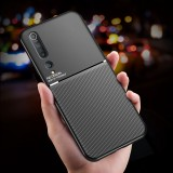 Bakeey Magnetic Leather Texture Non-Slip TPU Shockproof Protective Case Back Cover for Xiaomi Mi10 Mi 10 / Xiaomi Mi 10 Pro