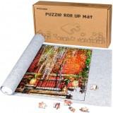 150x100cm Puzzle Felt Mat for 3000 Pcs Puzzle Play Puzzle Storage Protector Mat
