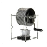ACL ACL-013 Hand-operated Coffee Roaster Stainless Steel Leakproof Beans Design for Household