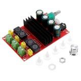 XH-M190 TDA3116D2 2x100W High Power Digital Power Amplifier Board TPA3116 Dual Channel Amplifier Board 12-24V