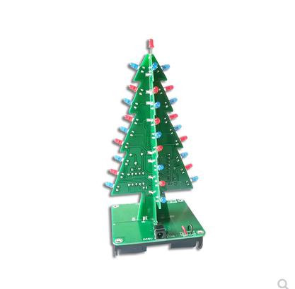 CTR-31 Flow Lamp DIY Christmas Tree Kit CD4017 Electronic Production LED Kit