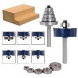 6mm Woodworking Tools Milling Cutter Tenon Cutter Tenon Grooving Cutter Carving Machine Trimming Machine Tool Head