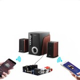 bluetooth 5.0 Audio Transmitter Receiver 3.5mm AUX Coaxial optical Fiber Jack Stereo Wireless Adapter Decoding Module