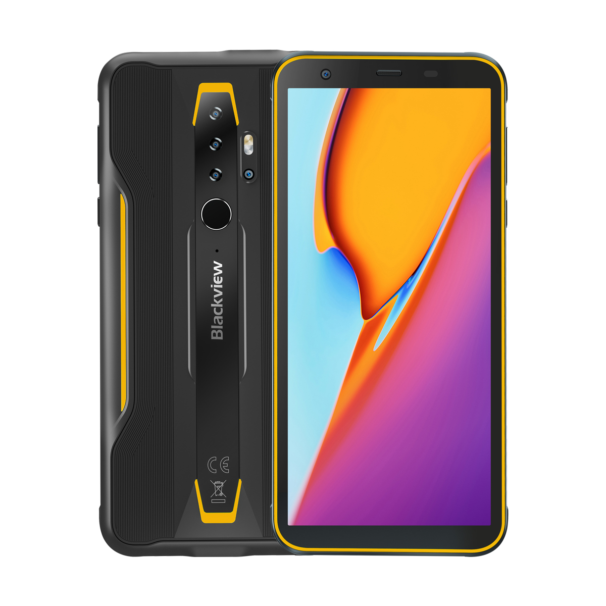 Blackview BV6300 Pro Global Bands IP68/IP69K Waterproof 5.7 inch NFC 4380mAh Android 10 16MP Quad Camera 6GB 128GB Helio P70 Octa Core 4G Smartphone