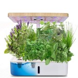 Hydroponics Growing System Indoor Herb Garden Planter Starter Kit with Grow Light LED Height Adjustable Smart Home Garden with Automatic Timer for Various Plants
