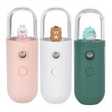 5V Portable Mini humidifier Nanometer Fine Fog USB Charging 250mAh Battery Life Low Noise for Home Car Office