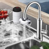 3000W 220V Electric Instant Heater Faucet Tap LED Display Hot Water Kitchen