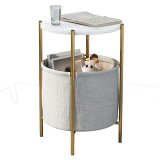Nordic Small End Side Table Simple Small Living Room Bedside Table Light Luxury Creative Small Round Table for Home Office