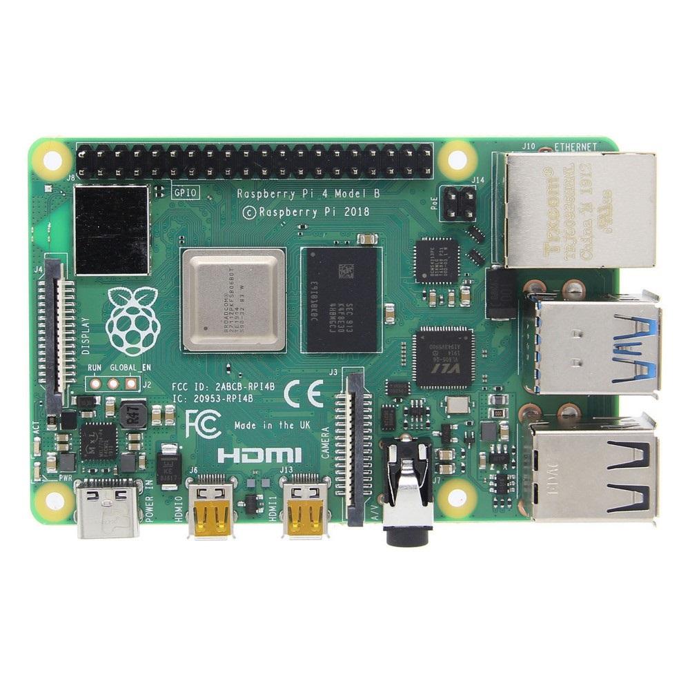 Catda 8GB RAM Raspberry Pi 4B + Cover Box + Power Supply + 32/64GB Memory Card +Micro HDMI DIY Kit