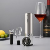 Vino Opener Automatic Corkscrew Electric Bottle Openers Set With Vino Stopper Gift Box USB Charging Cable Kitchen Accessories