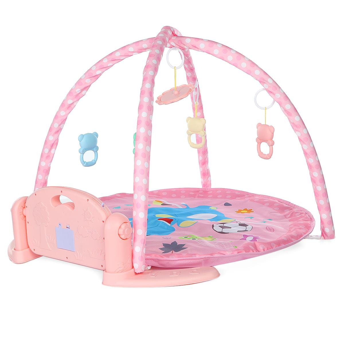 Music Infant Play Mat Gym Newborn Baby Musical Piano Blanket Kids Activity Carpet Crawling Mat