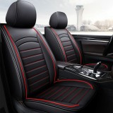 Universal 5 Seats Leather Car Front Seat Cover Protector Cushion Mat Full Surrounding Pad