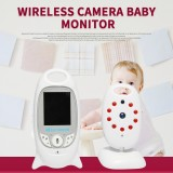 SHIWOJIA VB601 2.4G Baby Monitor Wireless Digital Video Baby Monitor 1080P Night Vision Two Way Audio USB Charging IP Camera
