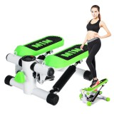Cardio Fitness Stepper Multifunctional Treadmill Leg Waist Exercise Machine Gym Home Sports Cycling with Elastic Rope