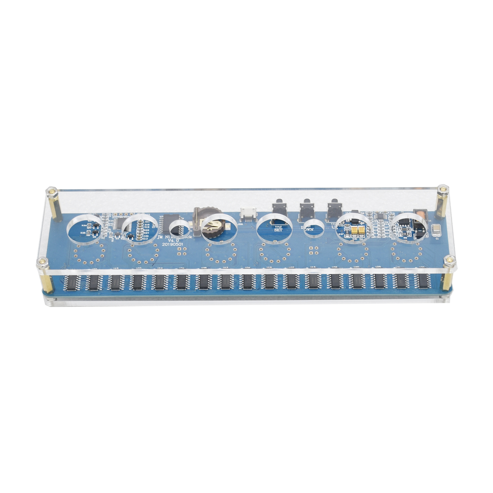 5V 1A In14 Nixie Tube LED Clock Glow Tube Clock Module Board Motherboard For IN14 Tube Digital Clock Without Tubes